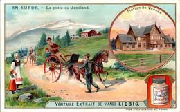 CHROMO LIEBIG - En Suède La Poste Au Jemtland Postman - Série Belge N°869 E) - Année 1906 - Liebig