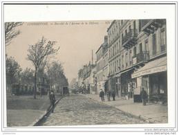 92 COURBEVOIE BAS COTE DE L AVENUE DE LA DEFENCE CPA BON ETAT - Courbevoie