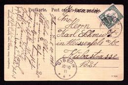 Dt. Kolonien - Südwestafrika - GIBEON - Weissenfels - 10.10.11 - Mi.12 Od. 25 - Colony: German South West Africa