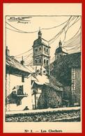 BRIANCON - Les Clochers - N° 1 - Illustration De SETNOF - Briancon