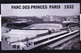 CARTE DE STADE . PARIS  FRANCE PARC DES PRINCES  VERS 1932 # CS. 329 - Fussball