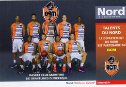 (59) - BASKET CLUB MARITIME DE GRAVELINES DUNKERQUE ( 2014 ) - Basketball