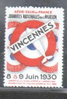 Erinophilie, Journees Nationales De L'aviation, 1930 - Aviation