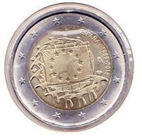 2 Euros Commémoratif 2015 : Espagne (drapeaux) - Spain
