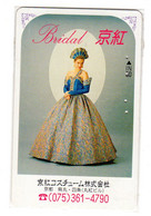 TELECARTE JAPON MODE BRIDAL - Moda