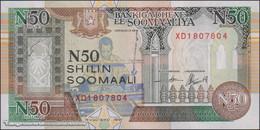 TWN - SOMALIA R2c - 50 N-Shilin Soomaal 1991 Prefix XD - Unauthorized UNC - Somalia