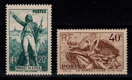 YV 314 & 315 N** Rouget De L'Isle & La Marseillaise Cote 20 Euros - Neufs