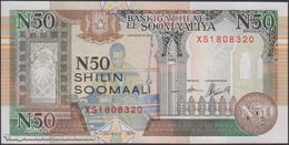 TWN - SOMALIA R2c - 50 N-Shilin Soomaal 1991 Prefix XS - Unauthorized UNC - Somalia