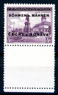 Böhmen Und Mähren MiNr. 17 LS Postfrisch MNH (T321 - Ungebraucht