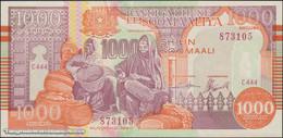 TWN - SOMALIA R10C - 1000 1.000 Shilin Soomaali 1990 Block C444 UNC - Somalia