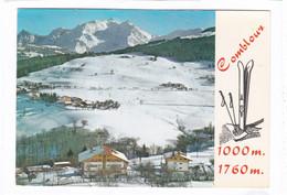 CPSM.  15 X 10,5  -  COMBLOUX  -  Vue Aérienne Sur Les Pentes Du Mont-d'Arbois - Combloux