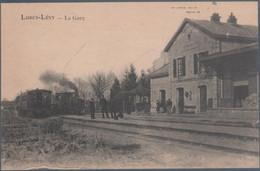 Lurcy Lévy , Train En Gare , Animée - Zonder Classificatie