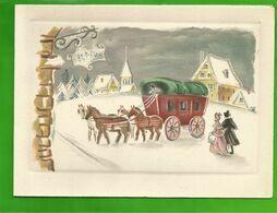 CP  BARRE-DAYEZ N° 12820 A Calèche Tirée Par Des Chevaux Sur La Neige - 1900-1949