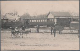 Nangis , Gare Du Tramway De Bray à Sablonnières , Animée - Nangis