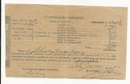 Contribuição Industrial Portugal Foscôa 1904 - Portugal