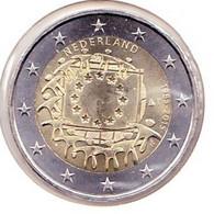2 Euros Commémoratif 2015 : Pays-Bas (drapeaux) - Netherlands