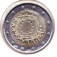 2 Euros Commémoratif 2015 : Slovaquie (drapeaux) - Slovakia
