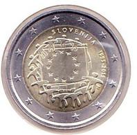 2 Euros Commémoratif 2015 : Slovénie (drapeaux) - Slovenia