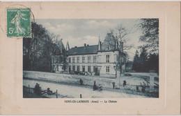 CP Dept 02 Mons En Laonnois Chateau - Other Municipalities
