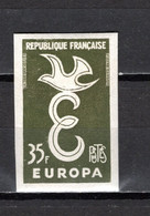 FRANCE  N° 1173  ESSAI DE COULEUR    NON DENTELE  NEUF SANS CHARNIERE  COTE 120.00€  EUROPA - Ongetand