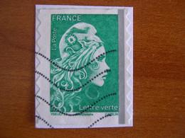 France  Obl  N° 1598 Bande Phosphore - Autoadesivi