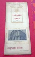 Programme Théâtre Des Arts Rouen Saison 1920-1921 Damnation De Faust Berlioz M Franz M Journet Mlle Gellaz M Cosson - Programma's