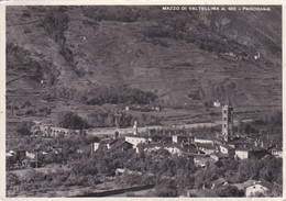 MAZZO DI VALTELLINA (SONDRIO) - CARTOLINA - M. 562 - PANORAMA - VIAGGIATA  PER MILANO - Sondrio