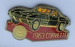 V242 Pin's Voiture Car CORVETTE 1963  Achat Immédiat - Corvette