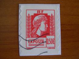 France  Obl  N° 43 - Autoadesivi
