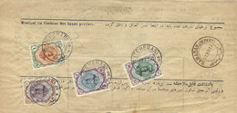 Persia - Persien - Middle East 1917-XI-18;  AVIS DE DÈLIVERANCE; Tehran - Hamadan - Irán