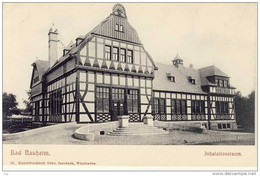 Bad Nauheim , Alte AK , 1900 - Inhalationsraum (Wellness Um 1900) - Bad Nauheim