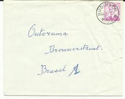 """ST190 : Sterstempel """" Budingen """" Op Brief - Cachets à étoiles"""