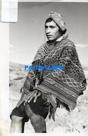 155302 PERU COSTUMES NATIVE MAN POSTAL POSTCARD - Peru