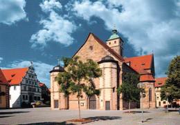 1 AK Germany / Bayern * Johanniskirche In Der Stadt Schweinfurt Ab 1200 Erbaut - Das älteste Erhaltene Gebäude Der Stadt - Schweinfurt
