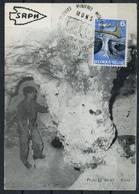 Belgique 1968 Prehistory Prehistoire Spiennes Biface CM - Préhistoire