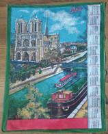 - TORCHON CALENDRIER PUBLICITAIRE 1972 - NOTRE DAME DE PARIS - - Autres