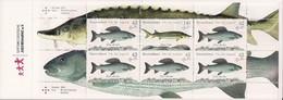 2015 Deutschland Allem. Fed. Mi. MH 100 **MNH  Süßwasserfische. - Postzegelboekjes