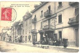 CPA  PONT DE BEAUVOISIN   Bazar Du Travail Des Prisons - Other Municipalities