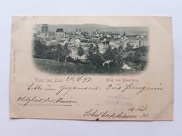 #2 Austria Gruss Aus Linz - Blick Vom Bauernberg Um 1897  Postcard Circulated , Circuler 2 Scans - Unclassified