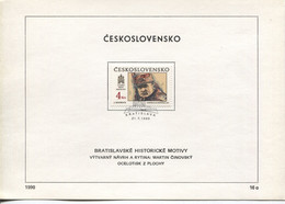 Tschechoslowakei # 3059 General Stefanik, Gemälde Jan Mudroch, Offizielles Ersttagsblatt - FDC