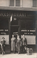 BERNEX 74 ( RESTAURANT TISSOT ) CARTE PHOTO DEVANTURE - Autres Communes