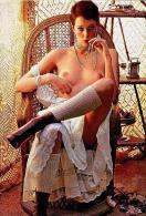 Film Stars - Sylvia Kristel Postcard - RPPC Size: 15x10 Cm. Aprox. - Entertainers