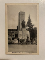 MONTEBELLUNA MONUMENTO AI CADUTI - Treviso