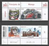 Timbre Monaco En Neuf ** N 2966/2969 Vendu Au Prix De La Poste - Nuovi