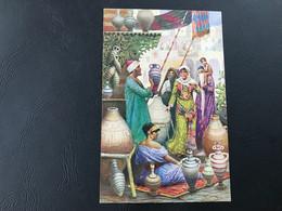 411 (sans Légende) Femmes Orientales Dans Le Souk - 1924 - Caïro
