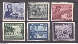 Allemagne  -  Reich  :  Yv  805-10  ** - Ungebraucht