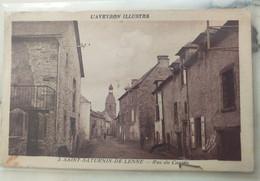 12 - St Saturnin De Lenne - Saint Saturnin De Lenne - Rue Du Canton - Other Municipalities