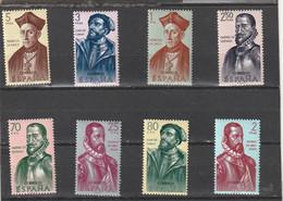 ///   ESPAGNE ///  Série - N°  1125 /1132  ** Neufs Unused Côte 25€ - 1961-70 Unused Stamps