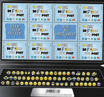 2021 Tegen Pesten - Contre Harcelement Sheet MNH - Unused Stamps