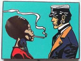 Très Beau Pin's Corto Maltese, De Très Belle Qualité En émail, Mesure 40x30mm Tirage 50EX - Comics